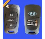 Hyundai accent blue anahtar